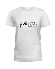 Just Go Camping Ladies T-Shirt thumbnail