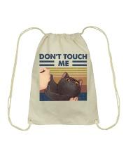 Don't Touch Me Drawstring Bag thumbnail