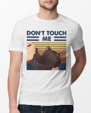 Don't Touch Me Classic T-Shirt lifestyle-mens-crewneck-front-13