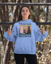I'm Getting Meowied Hooded Sweatshirt apparel-hooded-sweatshirt-lifestyle-05