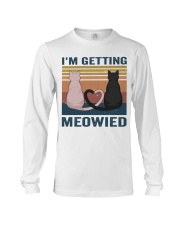 I'm Getting Meowied Long Sleeve Tee thumbnail