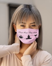 Plan For The Day Cloth face mask aos-face-mask-lifestyle-18