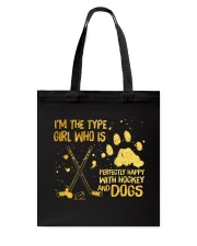 Hockey And Dogs Tote Bag tile
