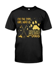 Hockey And Dogs Classic T-Shirt front