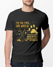 Hockey And Dogs Classic T-Shirt lifestyle-mens-crewneck-front-13