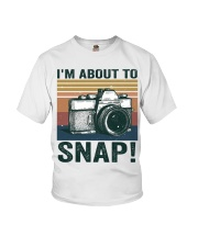 I'm About To Snap Youth T-Shirt thumbnail