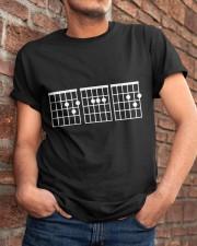 Dad Guitar Classic T-Shirt apparel-classic-tshirt-lifestyle-26