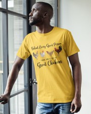 A Great Person Has Great Chickens Classic T-Shirt apparel-classic-tshirt-lifestyle-front-38