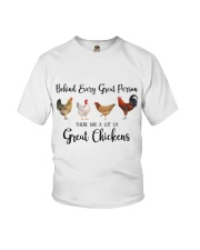 A Great Person Has Great Chickens Youth T-Shirt thumbnail
