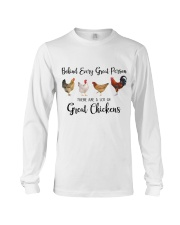 A Great Person Has Great Chickens Long Sleeve Tee thumbnail