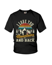 Love You To The Mountains Youth T-Shirt thumbnail