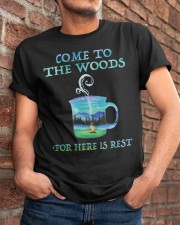 Come To The Woods Classic T-Shirt apparel-classic-tshirt-lifestyle-26