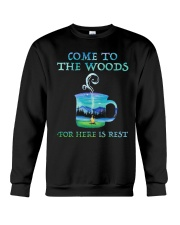 Come To The Woods Crewneck Sweatshirt thumbnail