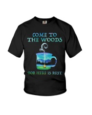 Come To The Woods Youth T-Shirt thumbnail