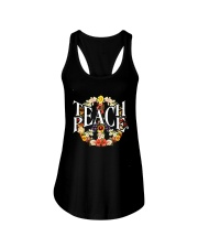 Teach Peace Ladies Flowy Tank thumbnail