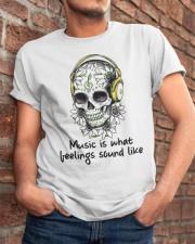 Music Is What Feelings Sound Like Classic T-Shirt apparel-classic-tshirt-lifestyle-26