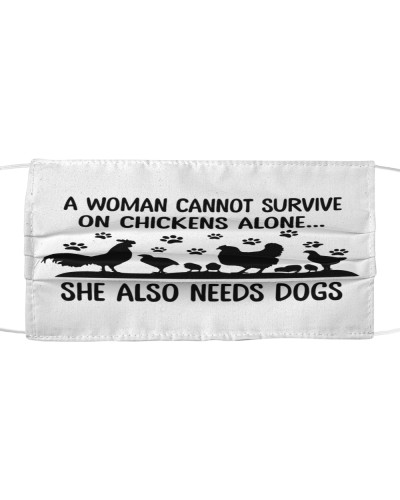 A Woman Cannot Survive On Chickens Alone