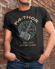 Fathor Like A Dad Classic T-Shirt apparel-classic-tshirt-lifestyle-26