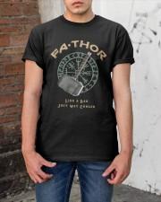 Fathor Like A Dad Classic T-Shirt apparel-classic-tshirt-lifestyle-31