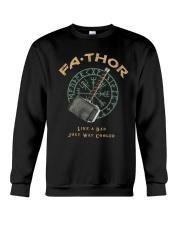 Fathor Like A Dad Crewneck Sweatshirt thumbnail