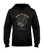Fathor Like A Dad Hooded Sweatshirt thumbnail