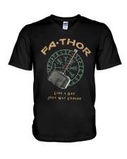 Fathor Like A Dad V-Neck T-Shirt thumbnail