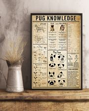 Pug Knowledge 11x17 Poster lifestyle-poster-3
