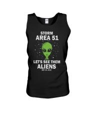 Storm Area 51 Unisex Tank thumbnail