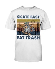 Skate Fast Eat Trash Classic T-Shirt front