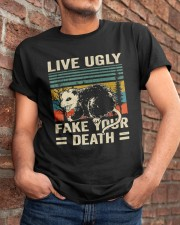 Live Ugly Fake Your Classic T-Shirt apparel-classic-tshirt-lifestyle-26