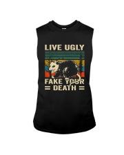 Live Ugly Fake Your Sleeveless Tee thumbnail