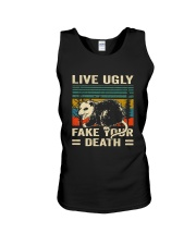 Live Ugly Fake Your Unisex Tank thumbnail