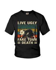 Live Ugly Fake Your Youth T-Shirt thumbnail