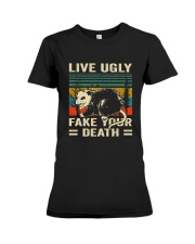 Live Ugly Fake Your Premium Fit Ladies Tee thumbnail