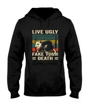 Live Ugly Fake Your Hooded Sweatshirt thumbnail