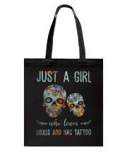 Skulls And Has Tattoos Tote Bag thumbnail