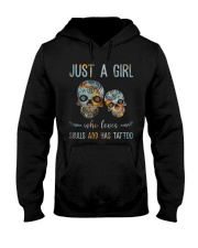 Skulls And Has Tattoos Hooded Sweatshirt thumbnail