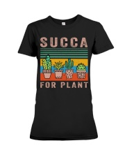 Succa For Plant Premium Fit Ladies Tee thumbnail