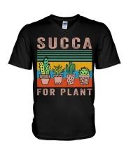 Succa For Plant V-Neck T-Shirt thumbnail