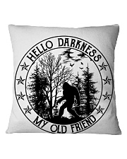 Hello Darkness My Old Friend Square Pillowcase thumbnail