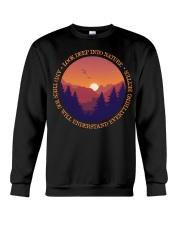 Look Deep Into Nature Crewneck Sweatshirt thumbnail