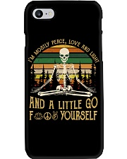 I'm Mostly Peace Love Phone Case thumbnail