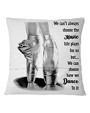 How We Dance To It Square Pillowcase back
