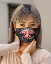 Stay Balanced Cloth face mask aos-face-mask-lifestyle-18
