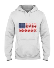 Love Fishing Hooded Sweatshirt thumbnail