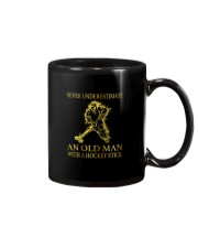 An Old Man With A Hockey Stick Mug thumbnail