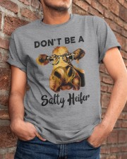Dont Be A Satty Heifer Classic T-Shirt apparel-classic-tshirt-lifestyle-26