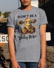 Dont Be A Satty Heifer Classic T-Shirt apparel-classic-tshirt-lifestyle-29