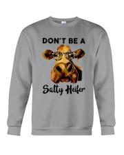 Dont Be A Satty Heifer Crewneck Sweatshirt thumbnail