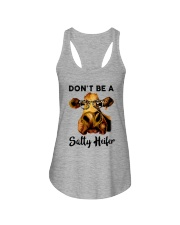Dont Be A Satty Heifer Ladies Flowy Tank tile